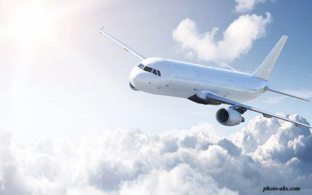 هواپیمای مسافربری airplane in sky
