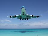 عکس زیبای فرود هواپیما
