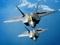 عکس دو هواپیمای جنگی در آسمان