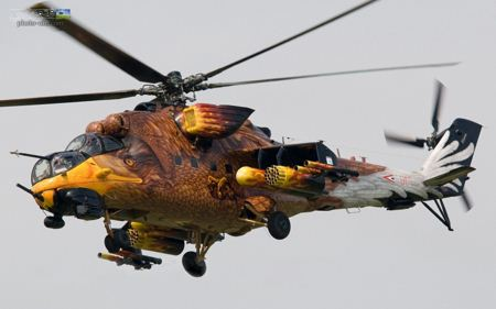 هلیکوپتر جنگی طرح عقاب Eagle Helicopter wallpaper
