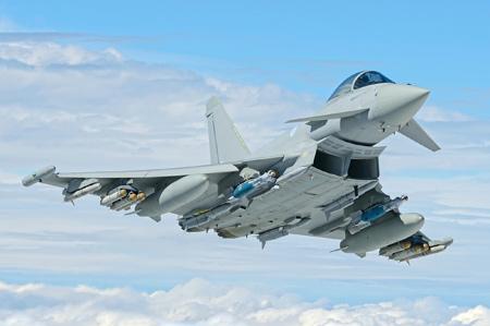 جت جنگنده یوروفایتر تایفون eurofighter typhoon