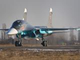 عکس جنگنده روسی سوخو در فرودگاه