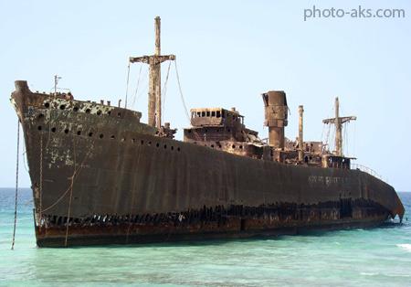 کشتی یونانی در جزیره کیش greek ship in kish
