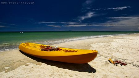 قایق تفریحی ورزشی زرد yellow ship