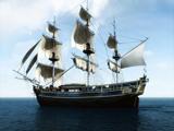 کشتی قدیمی بادبانی انگلیسی