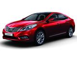 ماشین هیوندای آزرا قرمز