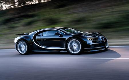 والپیپر ماشین بوگاتی مشکی bugatti chiron speed