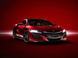 عکس ماشین لوکس آکورا قرمز