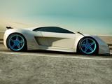 ماشین آئودی سفید سوپر اسپرت