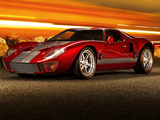 عکس ماشین سوپرکار فورد قرمز