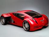 ماشین لکسوس قرمز