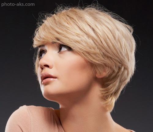جدیدترین مدلهای مو کوتاه دخترانه با رنگ روشن