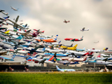 نمایش هوایی هواپیما ها