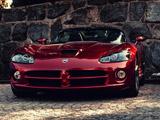 پوستر ماشین دوج وایپر قرمز