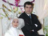 الهام حمیدی و همسرش