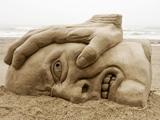 جالب ترین مجسمه های شنی