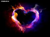 عکس قلب در آتش