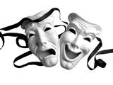 ماسک شاد و غمگین تئاتر