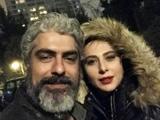 مهدی پاکدل و همسر دومش