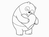 نقاشی خرس پاندا